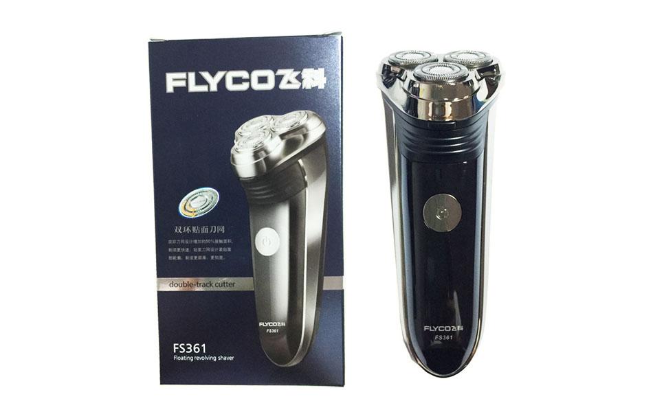 Máy_Cạo_Râu_Flyco FS361-Máy khỏe-cạo êm-sạc điện-bền đẹp