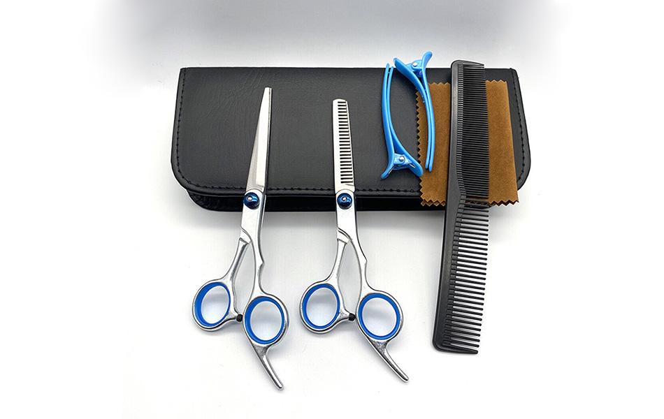 Bộ kéo cắt tóc gia đình 7 món - gia đình có trẻ nhỏ, người già