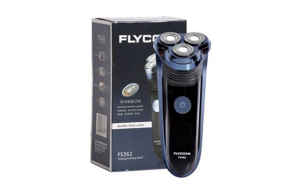 Máy_Cạo_Râu_Flyco FS362-Ba lưỡi-sạc điện- máy khỏe- chạy êm