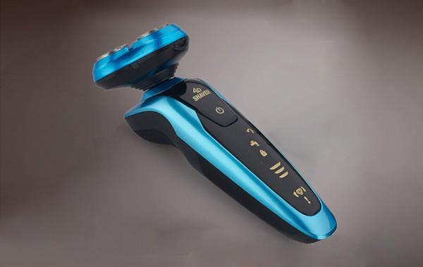 Máy_Cạo_Râu_Shaver 4D-RQ9001 xanh-chống nước-nhỏ gọn-pin khỏe