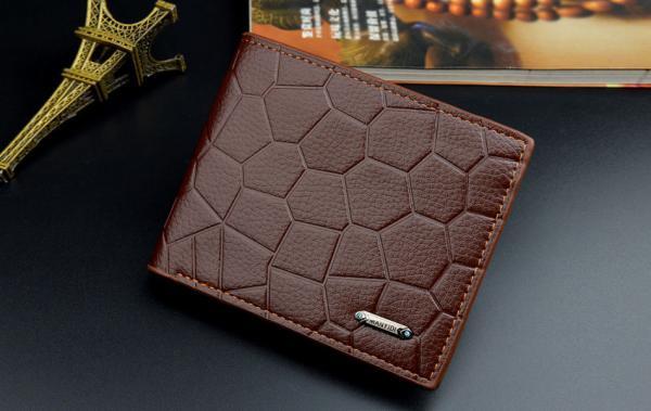 ví da nam cầm tay cao cấp, phong cách thời trang hàn quốc, nhỏ gọn, nhiều ngăn, có khóa ví