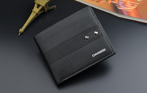 Ví nam đẹp kiểu ví ngang Hàn Quốc nhiều ngăn có ngăn kéo